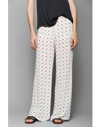 Sparkle & Fade - Checkered Wideleg Pant - Lyst