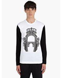 Comme Des Garçons X Nicolas Buffe Orlo Print Long Sleeve Tshirt - Lyst