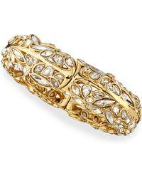 Alexis Bittar Miss Havisham Starlight Hinge Bracelet - Lyst