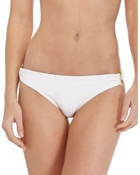 Shoshanna Thessaly Ringside Swim Bottom - Lyst