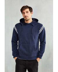 BDG - Athletic Stripe Hoodie Sweatshirt - Lyst