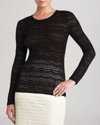 BCBGMAXAZRIA Bcbg Max Azria Top  Fae Crochet Lace - Lyst