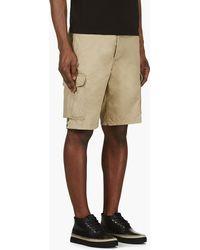 Diesel Khaki Cargo Gerty Shorts - Lyst