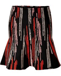 Issa Masie Printed Flared Skirt - Lyst
