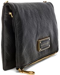 Marc By Marc Jacobs Too Hot To Party Chalky Liz Fold Over Clutch - Lyst