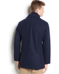American Rag - Wool-Blend Pea Coat - Lyst
