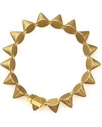 Eddie Borgo Small Cone Bracelet - Lyst