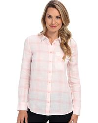 Calvin Klein Jeans Plaid Casual Button Front Shirt - Lyst