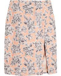 Thakoon Floral Jacquard Skirt - Lyst