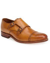 Grenson 'Ellery' Double Monk Strap Shoe - Lyst