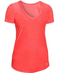 Under Armour Striped T-Shirt - Lyst