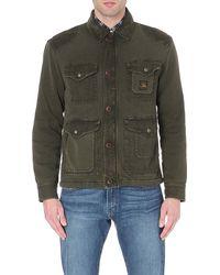 Ralph Lauren Cotton Jacket - Lyst