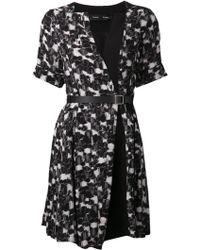 Proenza Schouler Printed Georgette Dress - Lyst