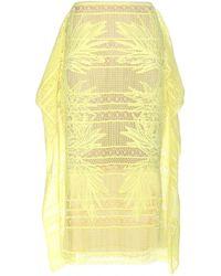 Erdem Ama Embroidered Skirt - Lyst