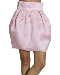 Dior Skirt Organza pink - Lyst