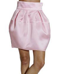 Dior Skirt Organza - Lyst