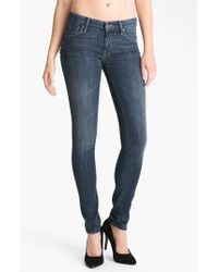 Mother 'The Looker' Skinny Stretch Jeans - Lyst