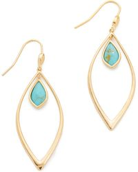 Tai - Turquoise Accent Earrings - Lyst