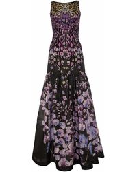 Temperley London Long Orchidea Full Dress - Lyst