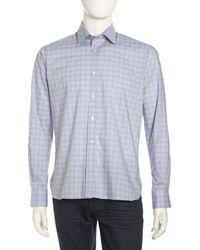 Ike Behar Luke Plaid Sport Shirt - Lyst