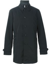 Burberry Brit - Down Padded Lining Buttoned Jacket - Lyst