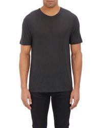 T By Alexander Wang Pilled Jersey T-Shirt - Lyst