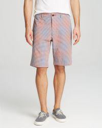 Robert Graham Red Wanderer Shorts - Lyst