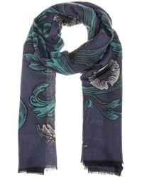 Burberry Prorsum - Printed Cashmere Scarf - Lyst