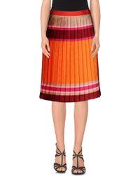 Ostwald Helgason | Knee Length Skirt | Lyst