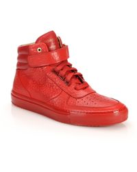 Android Homme - Epsilon Mid-top Leather Sneakers - Lyst