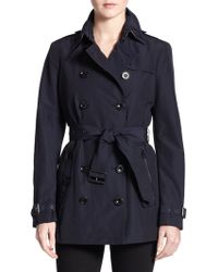 Burberry Brit Brookesby Double-Breasted Trenchcoat - Lyst