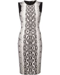Roberto Cavalli Fitted Dress - Lyst