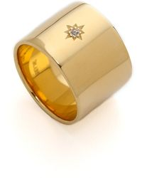 Elizabeth And James Bassa Ring Goldwhite Topaz - Lyst