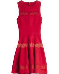 Alaia Dress Serpentine Azzedine Alaa Zig Zag Dress