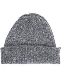 Inis Meáin Rib-Knit Hat - Lyst