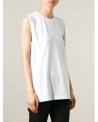 P.a.m. Perks And Mini - Printed Back Tank Top - Lyst