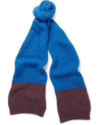 Paul Smith Twisted Wool-blend Scarf - Lyst