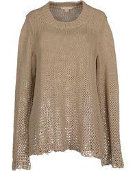 Michael Kors Sweater beige - Lyst