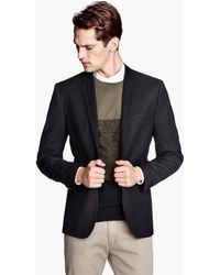 H&M Jacket Slim Fit - Lyst