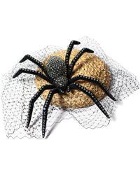 Benoit Missolin Spider Straw Bibi Hat - Lyst