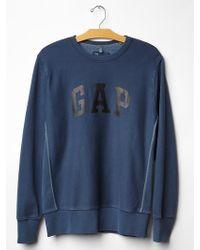 Gap Logo Heavyweight Sweatshirt - Lyst