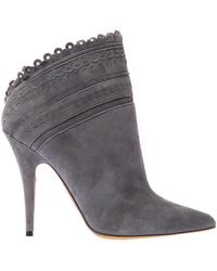 Tabitha Simmons Harmony Suede Ankle Boots - Lyst