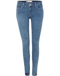 Levi's 535 Leggings in Drifter - Lyst