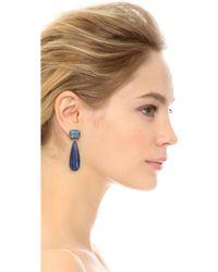 Jarin K - Elongated Pear Drop Earrings - Lyst