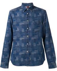 Missoni Patchwork Shirt - Lyst