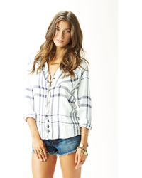 Rails Hunter Button Down Shirt - Lyst