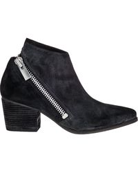 Belle By Sigerson Morrison Lara Ankle Boot Black Suede - Lyst