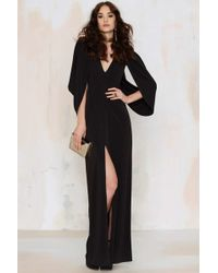Nasty Gal | Gal Just Wing It Cold Shoulder Dress | Lyst