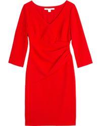 Diane von Furstenberg Bevin Draped Dress - Lyst