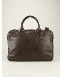 Balenciaga Stud Detail Briefcase - Lyst